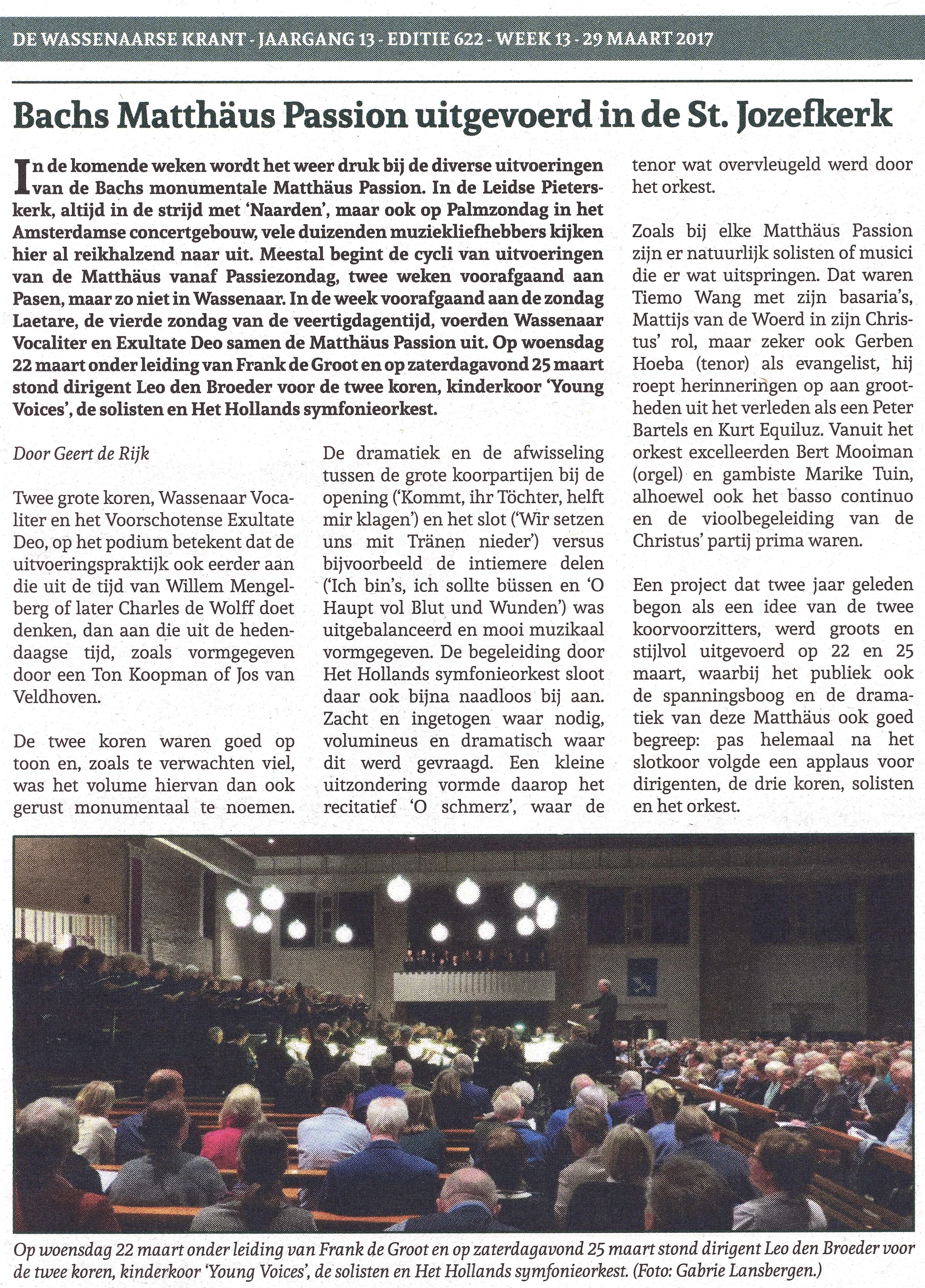 recensie 25032017 zaterdag Wassenaarse Krant